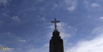 Cruz en el cementerio Castrillo de Duero