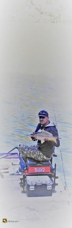 Durius Aquae: pescador en el Pisuerga