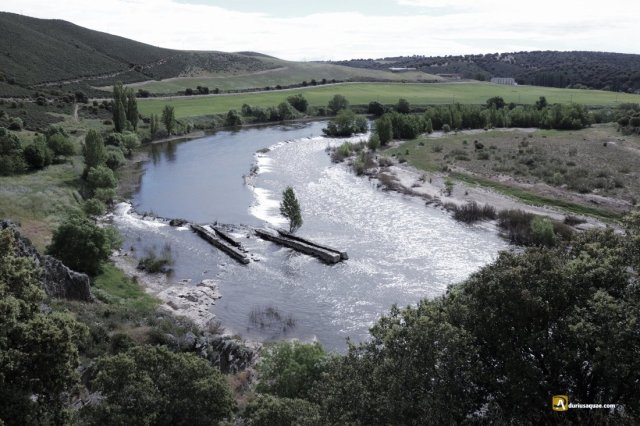 Durius Aquae: El duero tras la presa del Porvenir
