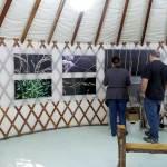 Yurt Gallery Interior