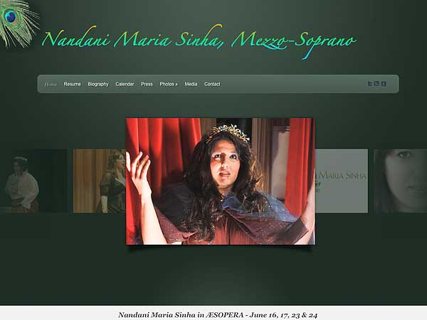 Nandani Maria Sinha, Mezzo-Soprano