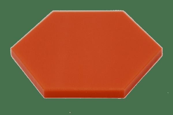 UHMW Colored Virgin Orange
