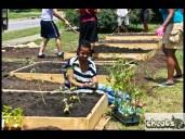 black girls garden