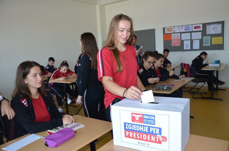 Zgjedhja e Presidentit të Shkollës.