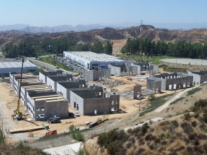 Rye Canyon construction