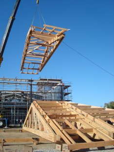 NewHall Library construction by Durst Builders