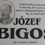Zmarł Józef Bigos z ul. Polnej