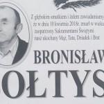 Zmarł Bronisław Sołtys z ul. Pienińskiej