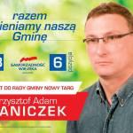 Krzysztof Waniczek kandydatem do Rady Gminy Nowy Targ