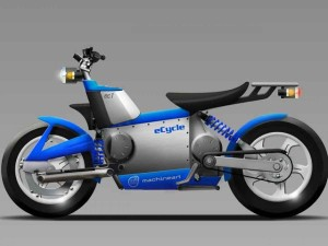 eCycle hybrid electric motorcycle