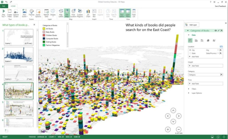 office-excel-2016-3D-map