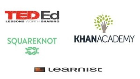 khan academy learnist ted squareknot
