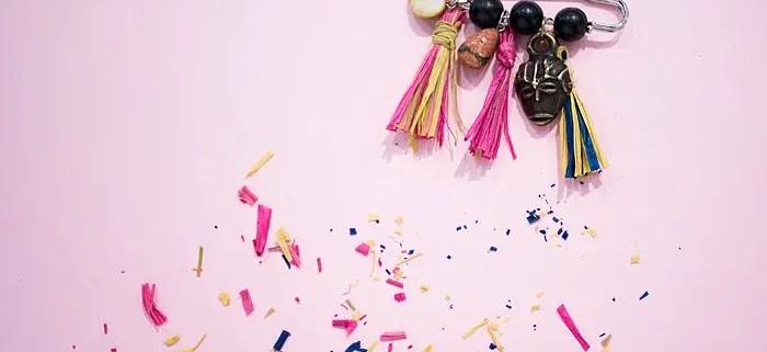 DIY: Raffia Pom Pom Pin Inspired by Dolce & Gabbana's SS 2013