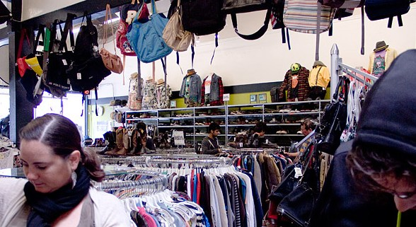 Thrift Shopping in San Francisco