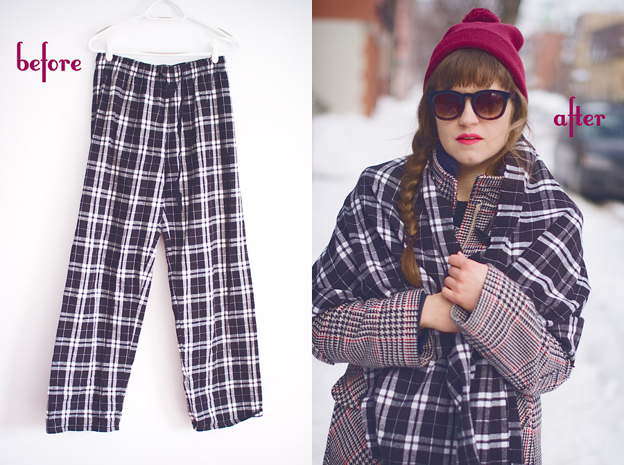 diy-fashion-Flannel-Pants-To-Scarf-before-after-Feb-21-2015-01