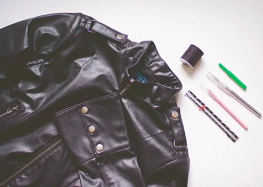 Fringed Jacket DIY supplies