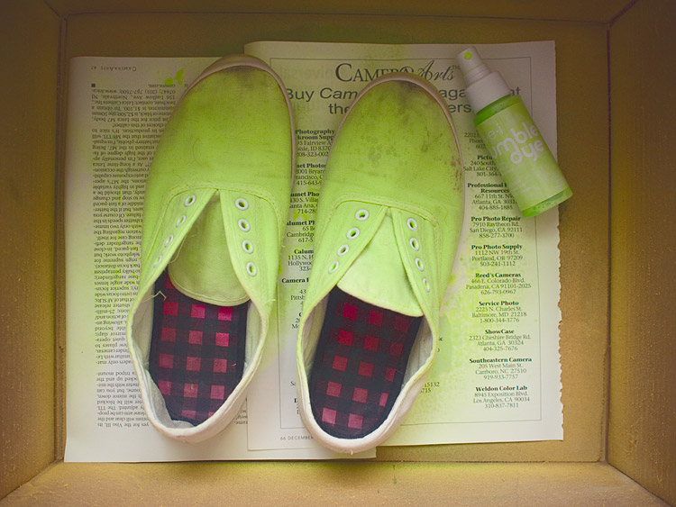 Pineapple Shoes DIY Steps