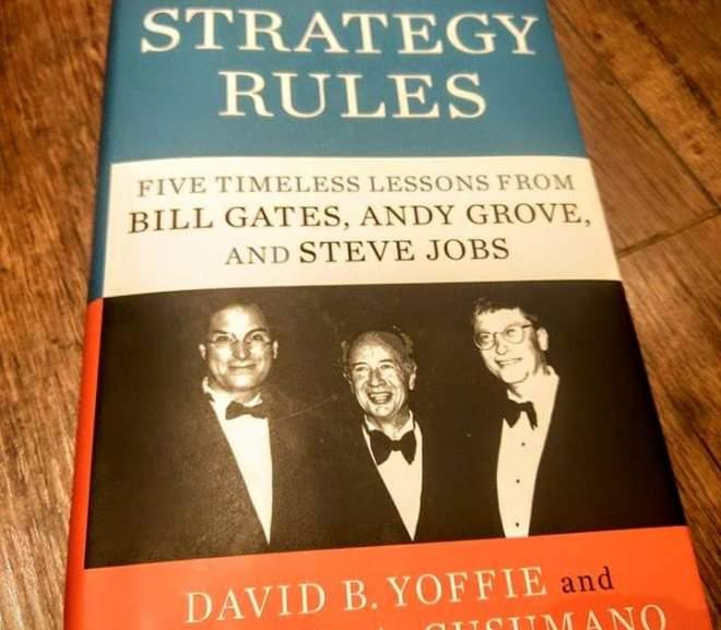 Strategy rules 我們這樣改變世界