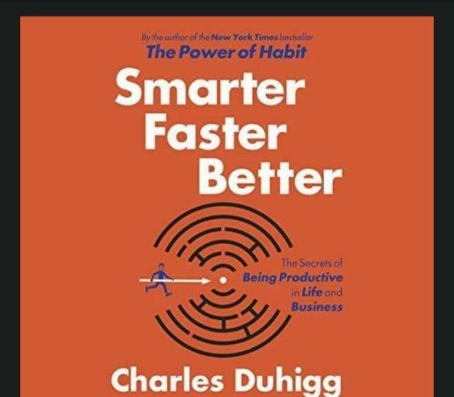Smarter faster better 創造更好的思維習慣