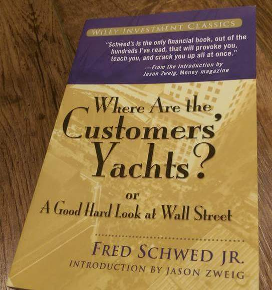 Where are the customer's yachts? 股票市場現象實錄