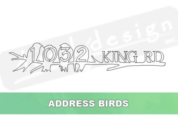 Address Birds