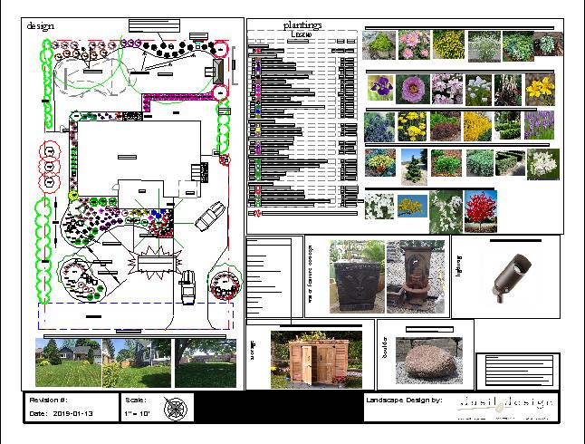 Landscape Design Full Property Gardens only