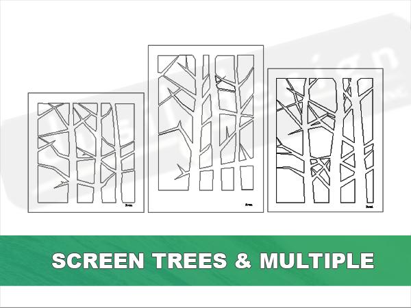 Screen Multiple Trees Panels
