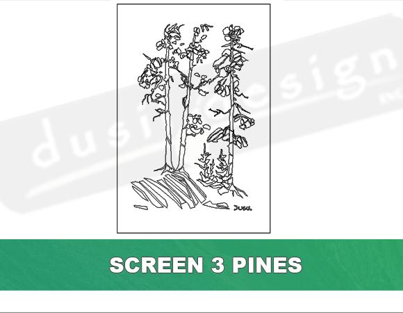 Screen Three Pines