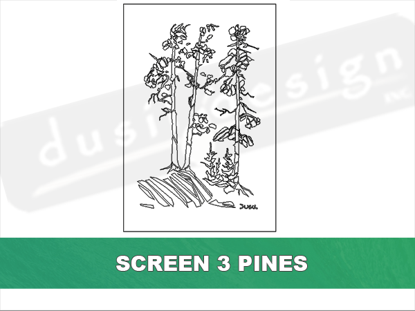Screen Three Pines