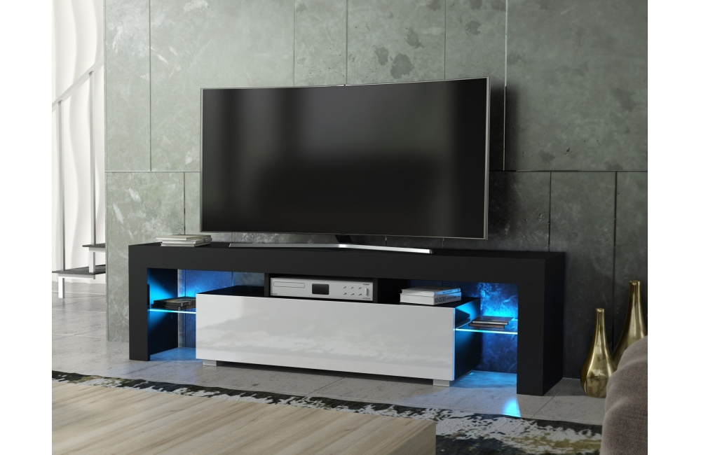 meuble salon banc tv spider 160 cm 7