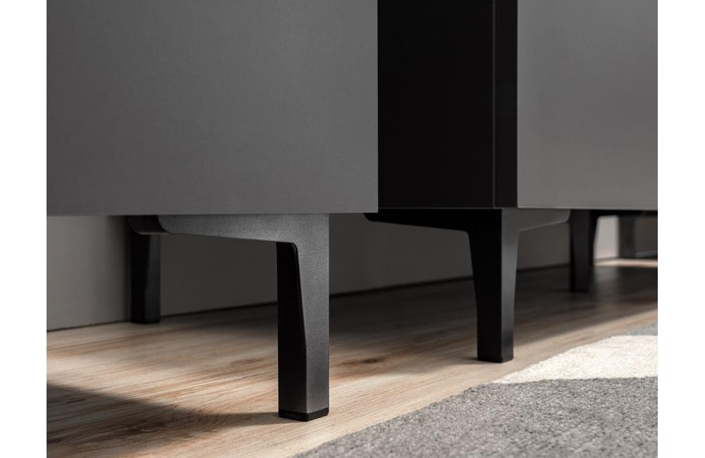 italia vaisselier max gris 180 cm