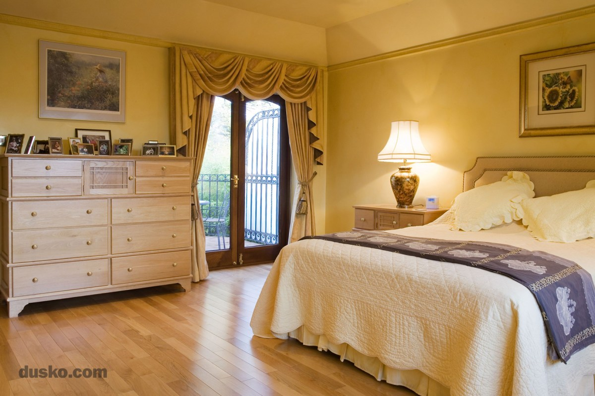 Arts and Crafts Bedroom in Davenham, Cheshire Tallboy