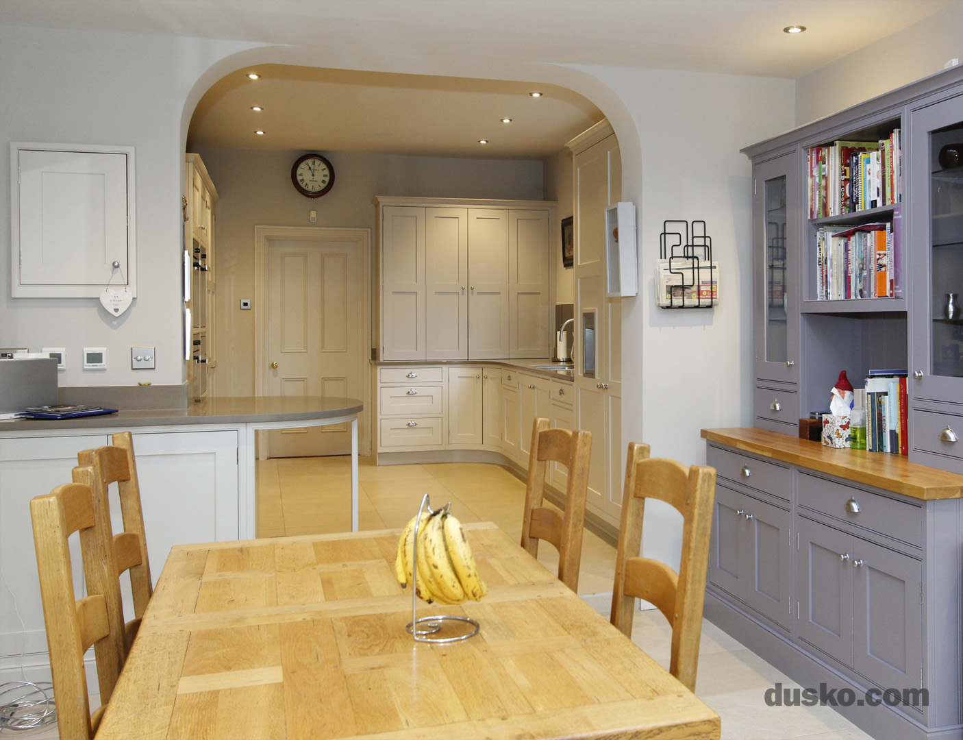 In Frame Kitchen in Bowdon, Cheshire Dining Area