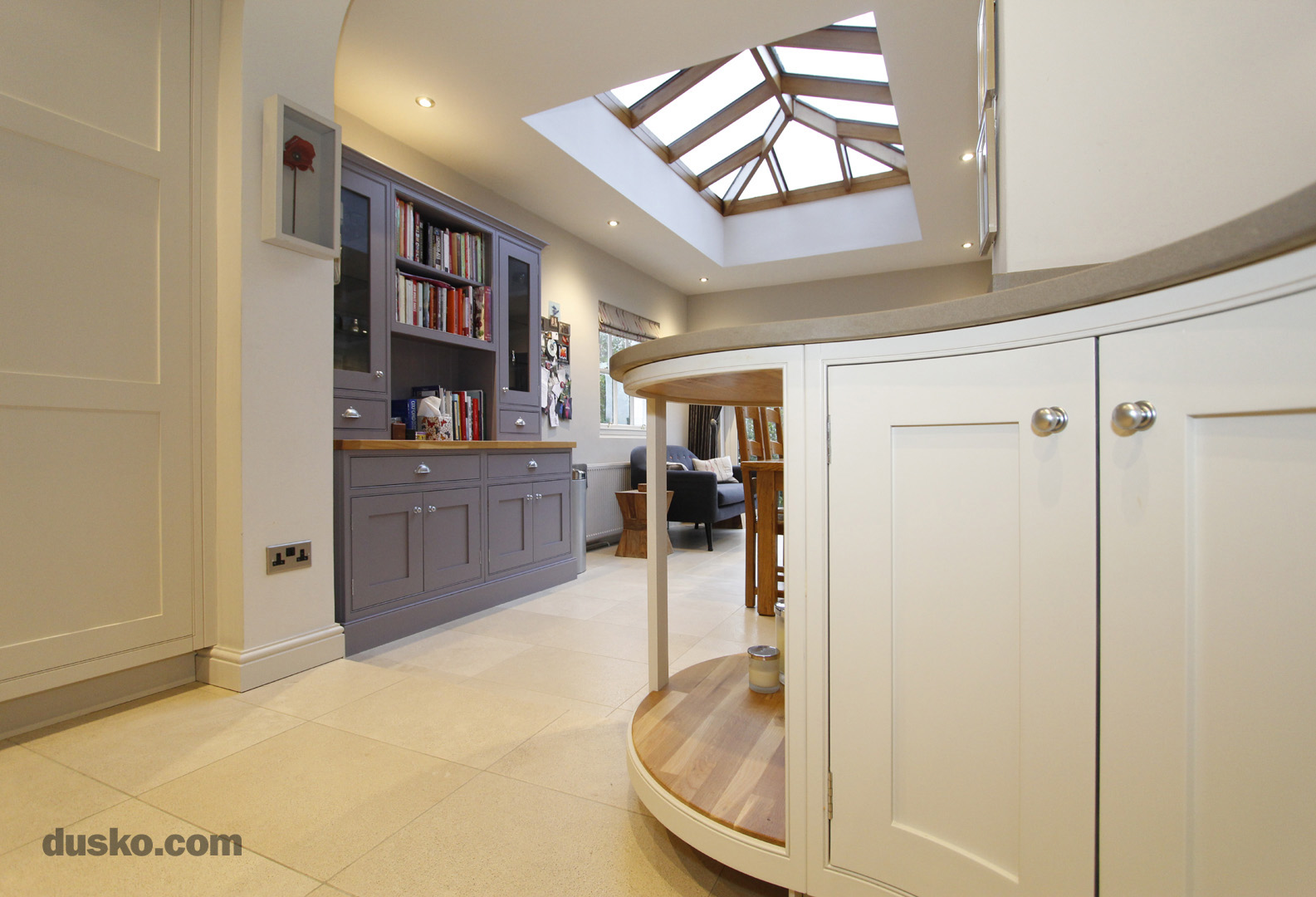 In Frame Kitchen in Bowdon, Cheshire Kitchen Dining Area