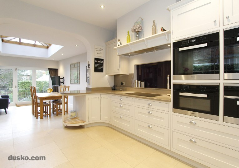 In Frame Kitchen in Bowdon, Cheshire Miele Integrated Ovens