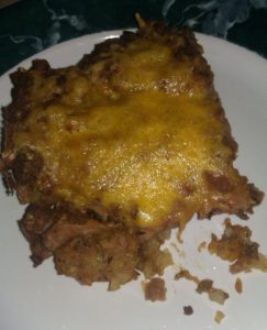 Tator Tot Taco Pie