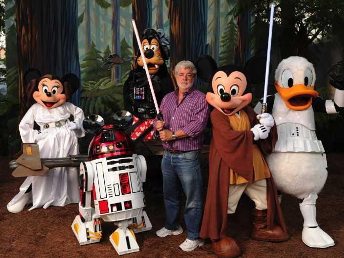 Disney ve George Lucas Star Wars'un hakları konusunda anlaşmışlardı.