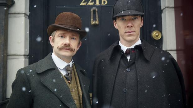 Sherlock - The Abominable Bride - Şu tiplere bakar mısınız?