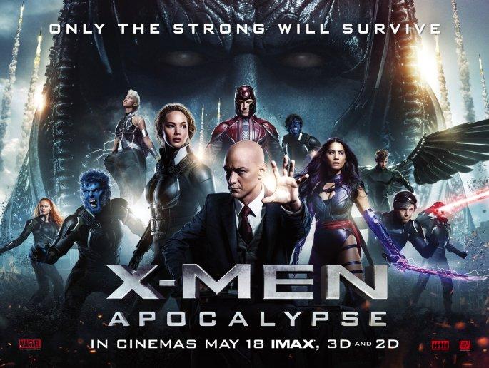 X-Men: Apocalypse posteri