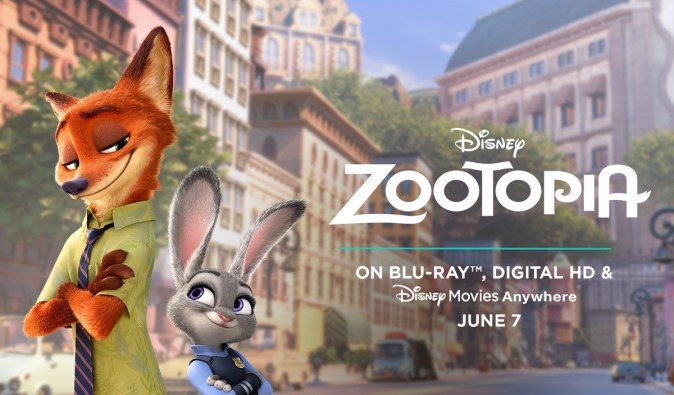 Zootopia - Blu-Ray versiyonu 7 Haziran'da piyasada