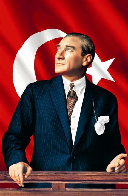 Cumhuriyetimizin kurucusu Mustafa Kemal Atatürk'ü minnetle anıyoruz.