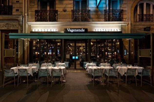 Vagenende - Paris'teki ilk akşam yemeği için seçtiğimiz şık bir Fransız lokantası