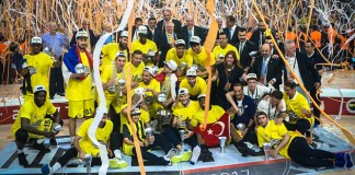 Fenerbahçe - Olympiakos final four finali sonunda gülen taraf Fenerbahçe oldu.