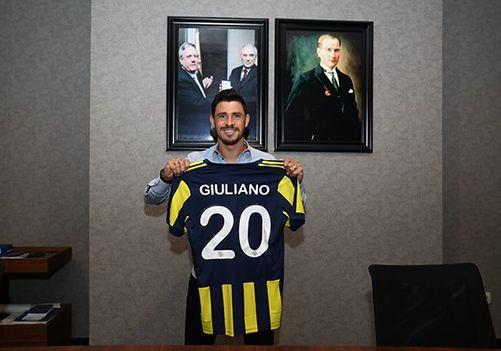 Giuliano Fenerbahçe'nin yeni hücuma dönük orta saha oyuncusu