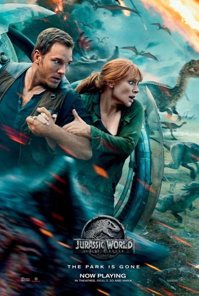 Jurassic World Yıkılmış Krallık - Fallen Kingdom posterimizde filmin kısa bir özetini görebiliyoruz.