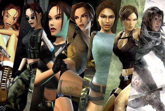 Tomb Raider Lara Croft oyun değişim