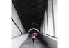 Siyah beyaz koridor