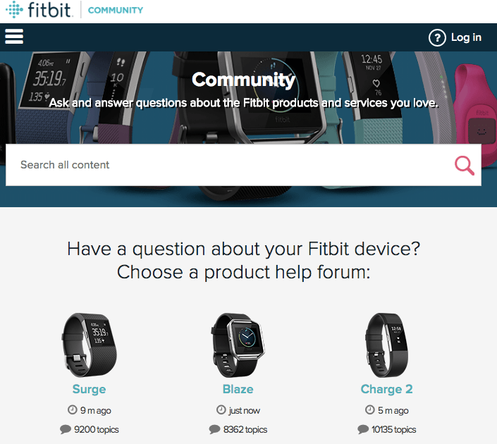 Fitbit builds a community around fitness