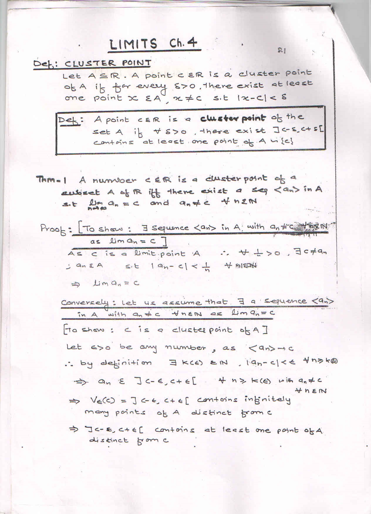 Delhi University First Year Mathematics Book And Notes