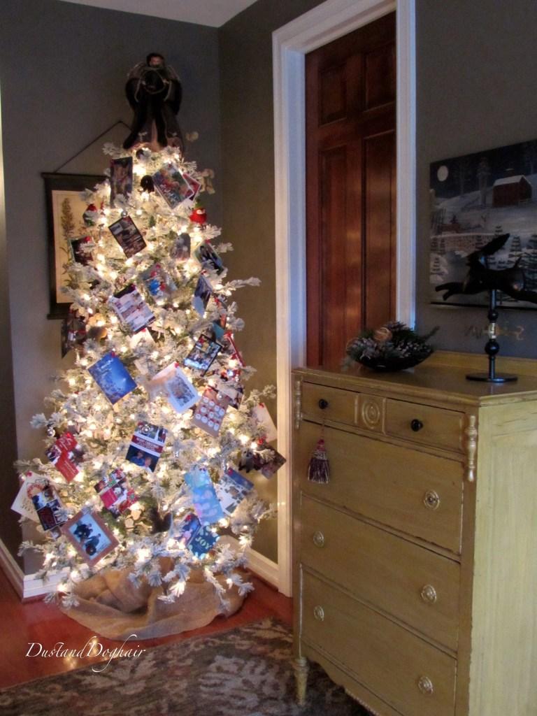 Christmas Card Tree 1